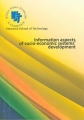 Information aspects of socio-economic systems' development